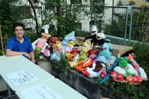Sommerfest: Ausstellung von Muppet Figuren