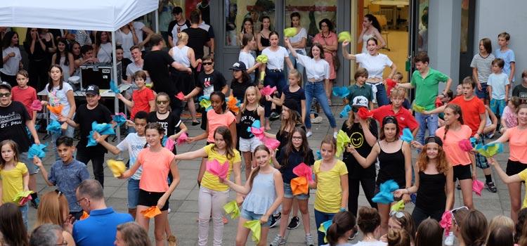 Sommerfest: Flashmob