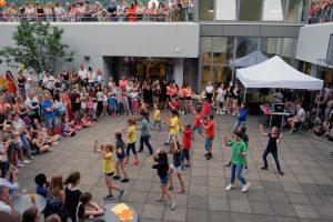 Sommerfest: Aufführung der Unterstufe