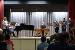 Aufführung der Musiklehrer