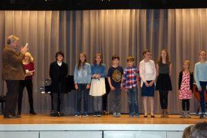 Abend der Künste: Preisträger der Unterstufe