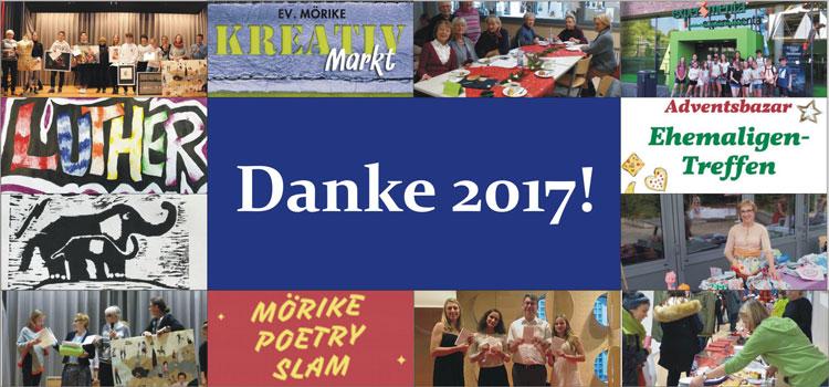 Danke 2017 – Willkommen 2018!