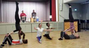 Hope Theatre Nairobi: Workshop mit Schülern des Evang. Mörike