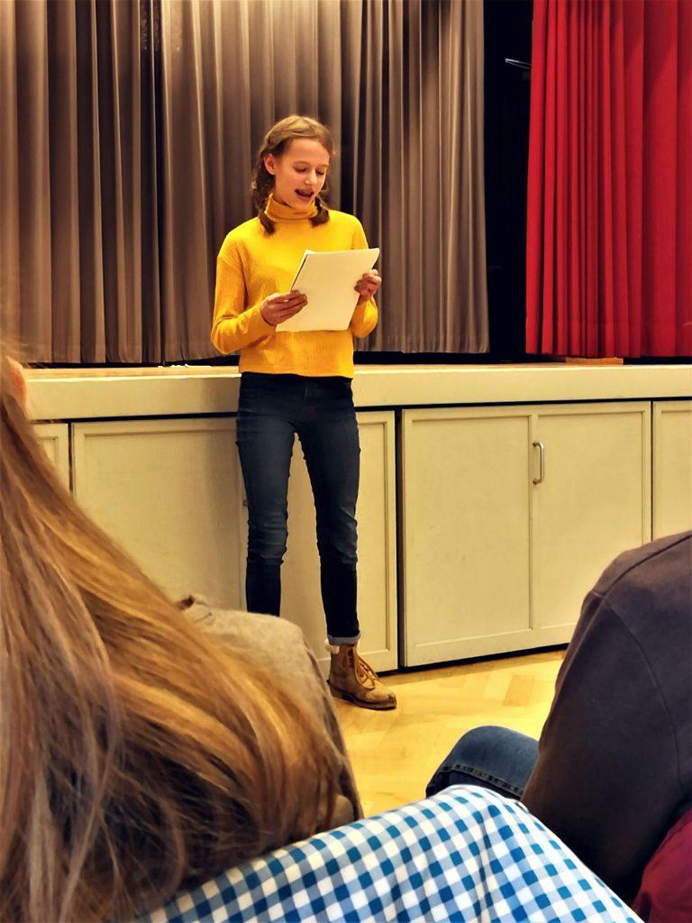 Workshop bei der Akademie für gesprochenes Wort