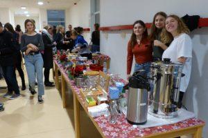 Ehemaligencafé am Adventsbazar 2018