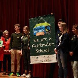 Die Woche des politischen Theaters oder: Wir sind Fair-Trade-Schule!